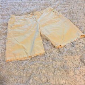 Boyfriend Roll Up Gap Shorts